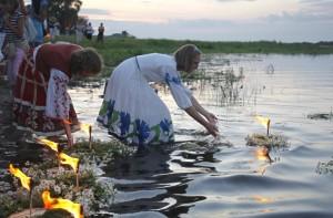 Belgium river ritual