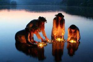 European river blessing ritual