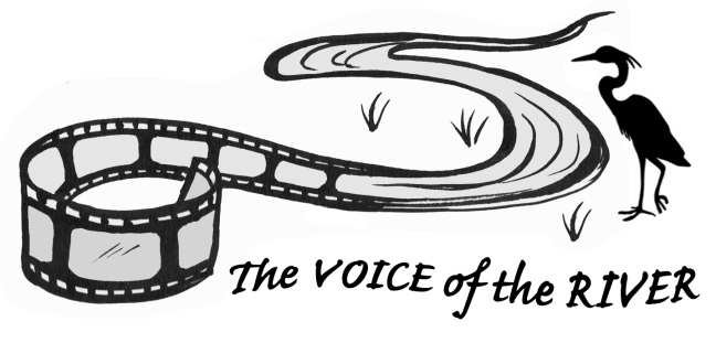 The Voice of the River logo with text